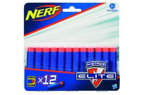 Hasbro NERF Elite náhradní šipky 12ks Dětské zbraně
