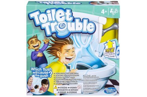 Hasbro Společenská hra Toilet Trouble stolní