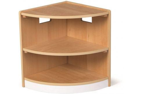 Tidlo dřevěná rohová skříňka Toddler Dětské kuchyňky