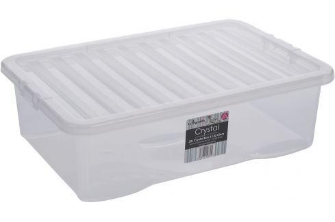WHAM 10860 BOX S VÍKEM 32L BÍLÁ Úložné boxy a vaky