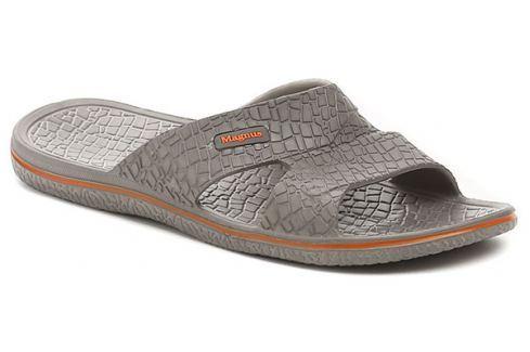 Magnus 68-0054-S1 šedé pánské plážovky, 40 Pánská obuv