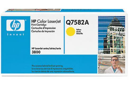 VINITY HP Toner Yellow pro CLJ 3800,6 000 str. (Q7582A) Náplně a tonery - originální