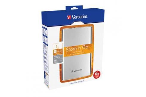 "Verbatim HDD 2.5"" 1TB Store 'n' Go USB 3.0 , stříbrný rozšiřující karty, moduly"