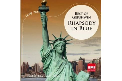 CD George Gershwin : Rhapsody in Blue - Best Of Gershwin Hudba