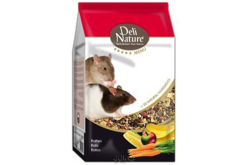 Deli Nature 5 Menu RATS 2,5kg-13003 Krmivo a vitamíny pro hlodavce a fretky
