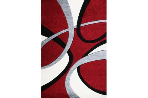 Kusový koberec Nairobi 094A Red/Red, 140 x 200 cm Kusové koberce moderní