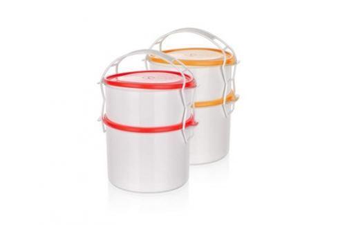 BANQUET 2-dílný plastový jídlonosič APETIT Outdoorové nádobí