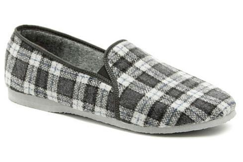 Pegres 1014 modrá pánská domácí obuv::41 Pánská obuv