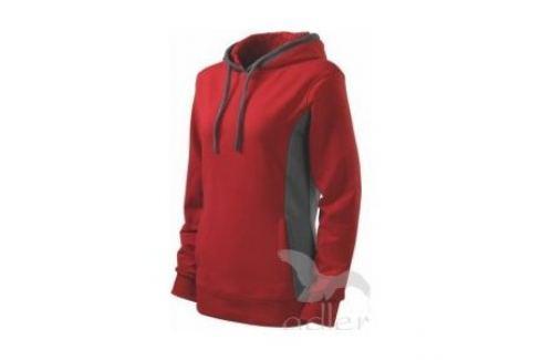 Mikina dámská Kangaroosize: S; barva: červená; Oblečení, obuv