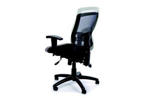 MAYAH Ergonomická kancelářská židle, síť.textilie, síť.opěrák, chromovaná základna,MaY Kancelářský nábytek