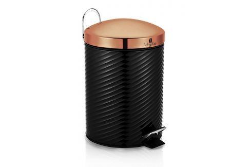 BERLINGERHAUS Koš odpadkový 5 L Black Rose Collection Odpadkové koše