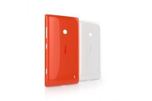 Nokia Phones Kryt na mobil Nokia CC-3068 White Gloss pevný pro Lumia 520 - bílý Pouzdra, kryty a fólie