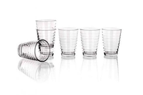SUPER VALUE Sada sklenic HONEY 255 ml, 6 ks, SV Sklenice, hrnky, šálky