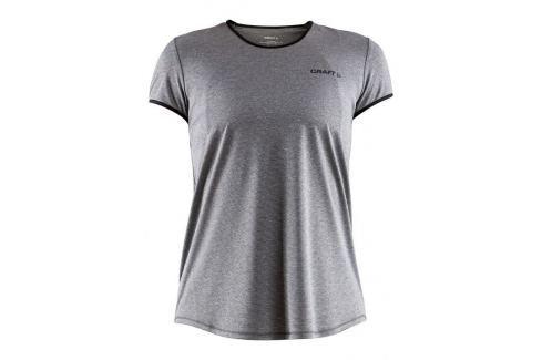Craft Dámské běžecké triko  Eaze SS W::XS; Šedá Dámská trička