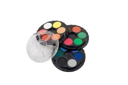 KOH-I-NOOR Vodové barvy, 18ks, 22,5 mm, Temperové a vodové barvy