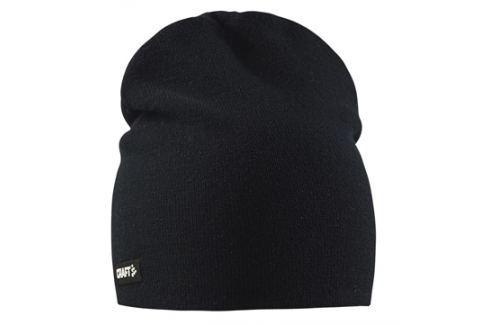 Craft Čepice  Solid Knit Black::L/XL Čepice, čelenky