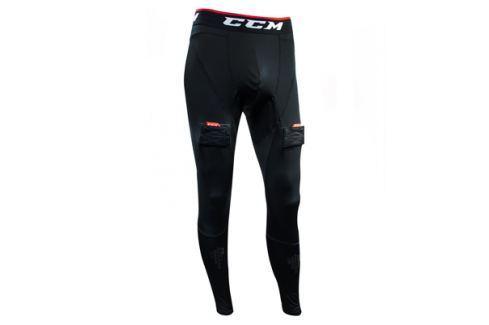 CCM Kompresní kalhoty se suspenzorem  Junior::XL Oblečení pro brankáře