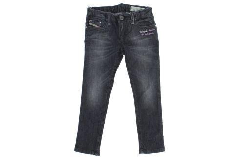 Jeans dětské Diesel | Černá | Dívčí | 4 roky Móda