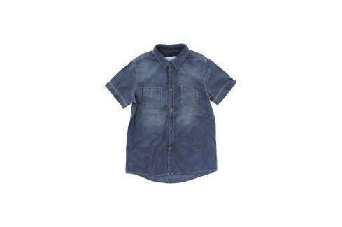 Košile dětská Diesel   Modrá   Chlapecké   M Košile krátký rukáv