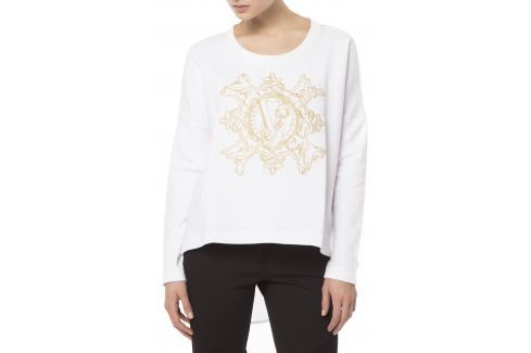 Mikina Versace Jeans   Bílá   Dámské   M Móda
