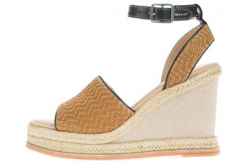 Melissa Klínová obuv Gant | Hnědá Béžová | Dámské | 38 Klínová obuv