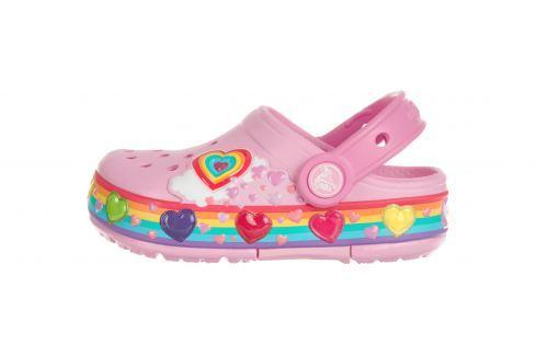 Crocband™ Fun Lab Lights Clog Crocs dětské Crocs   Růžová   Dívčí   27-28 Móda